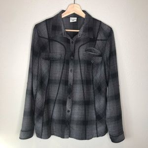 Columbia soft flannel button down shirt Size Large